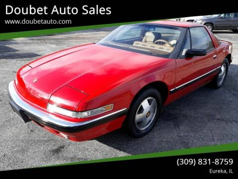 1988 Buick Reatta for sale at Doubet Auto Sales in Eureka IL