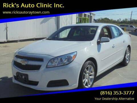 2013 Chevrolet Malibu for sale at Rick's Auto Clinic Inc. in Raytown MO