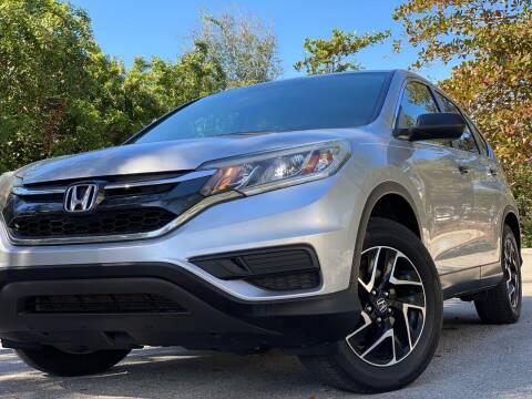 2016 Honda CR-V for sale at HIGH PERFORMANCE MOTORS in Hollywood FL