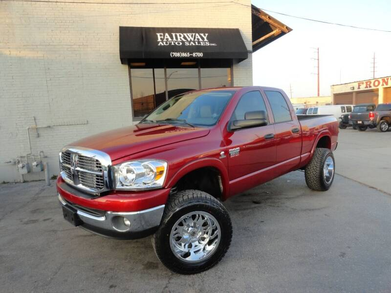 2008 Dodge Ram Pickup 2500 for sale at FAIRWAY AUTO SALES, INC. in Melrose Park IL