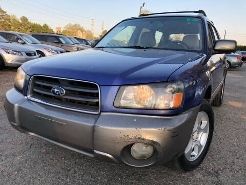 2003 Subaru Forester for sale at Atlantic Auto Sales in Garner NC