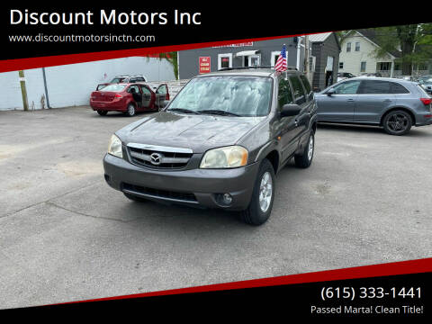 2004 Mazda Tribute for sale at Discount Motors Inc in Nashville TN