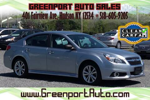 2014 Subaru Legacy for sale at GREENPORT AUTO in Hudson NY