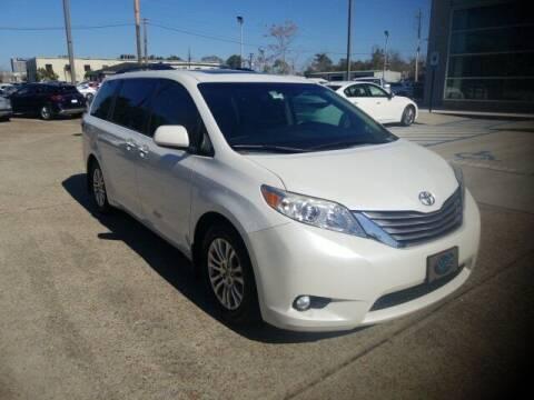 2015 Toyota Sienna for sale at JOE BULLARD USED CARS in Mobile AL