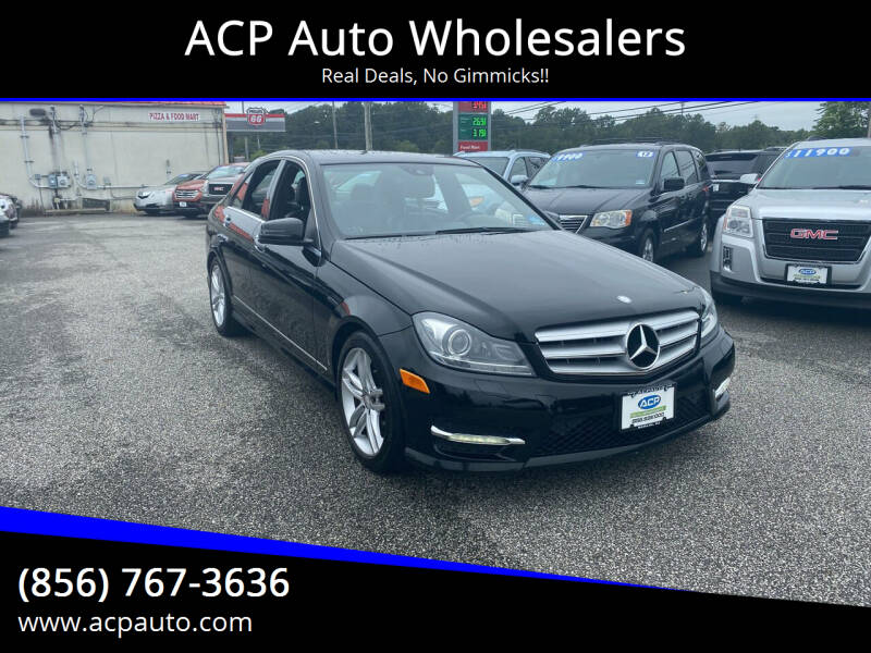 2013 Mercedes-Benz C-Class for sale at ACP Auto Wholesalers in Berlin NJ