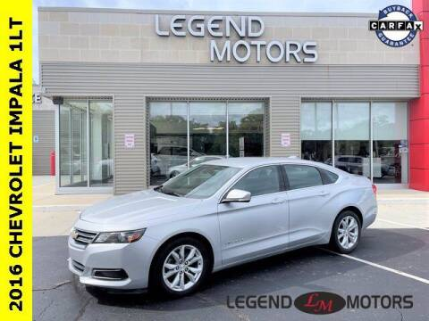 2016 Chevrolet Impala for sale at Legend Motors of Waterford in Waterford MI