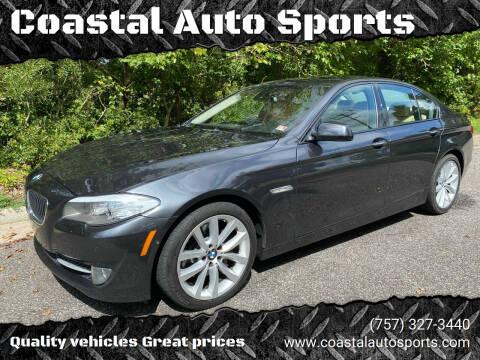 2011 BMW 5 Series for sale at Coastal Auto Sports in Chesapeake VA