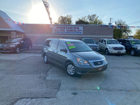 2009 Honda Odyssey for sale at Brothers Auto Group in Youngstown OH