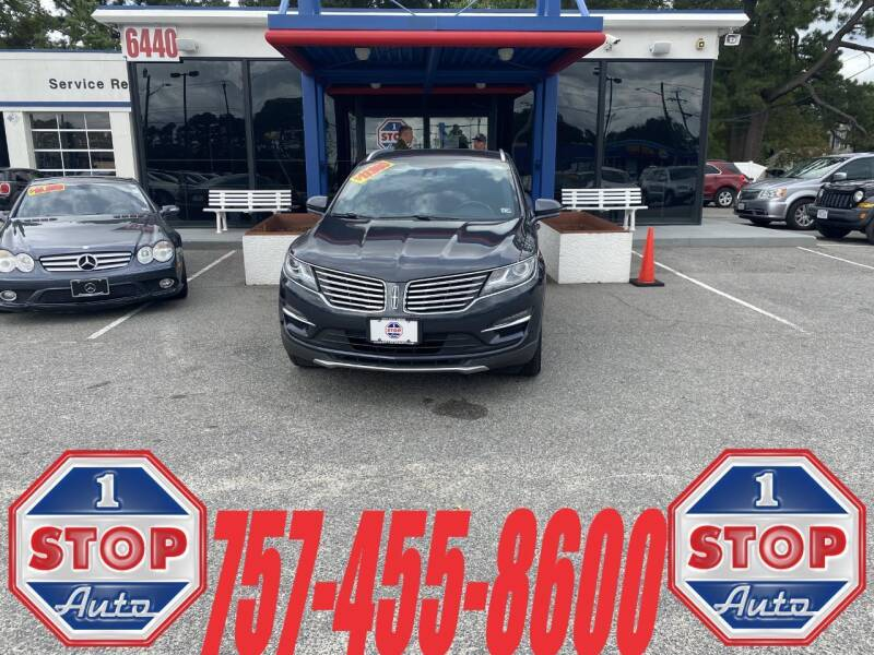 2015 Lincoln MKC for sale at 1 Stop Auto in Norfolk VA