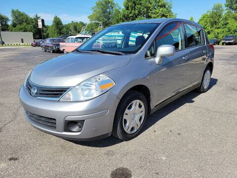 2012 Nissan Versa for sale at Cruisin' Auto Sales in Madison IN