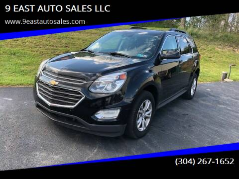 2017 Chevrolet Equinox for sale at 9 EAST AUTO SALES LLC in Martinsburg WV