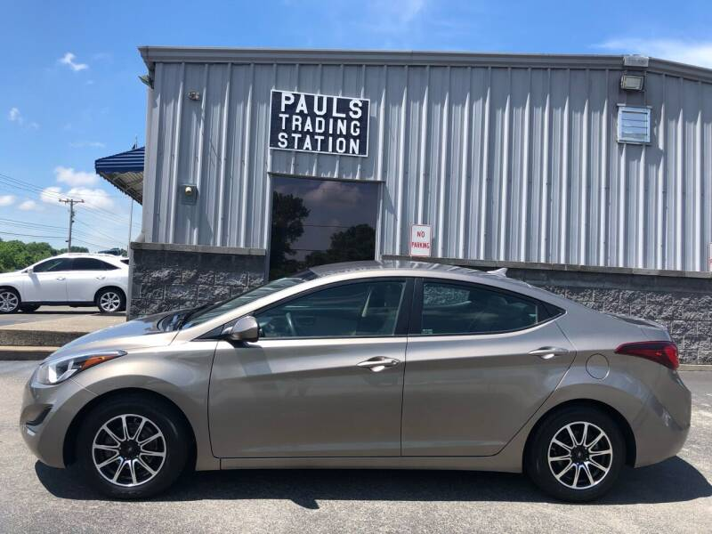 2015 Hyundai Elantra for sale at Ron's Auto Sales (DBA Paul's Trading Station) in Mount Juliet TN