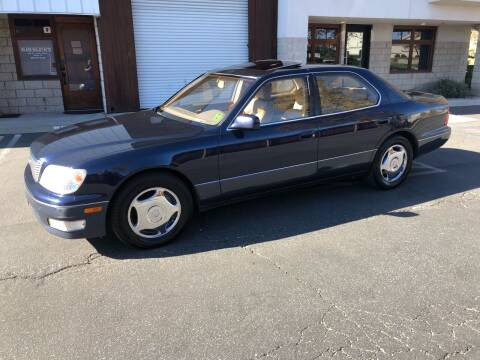 1999 Lexus LS 400 for sale at Inland Valley Auto in Upland CA