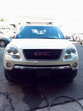 2010 GMC Acadia for sale at AR's Used Car Sales LLC in Danbury CT