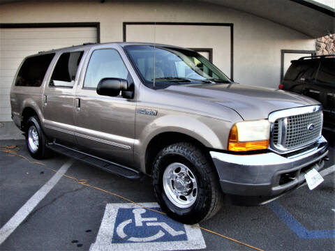 2000 Ford Excursion for sale at DriveTime Plaza in Roseville CA
