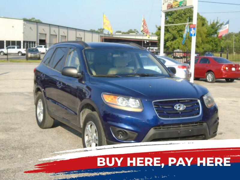 2010 Hyundai Santa Fe for sale at J & F AUTO SALES in Houston TX