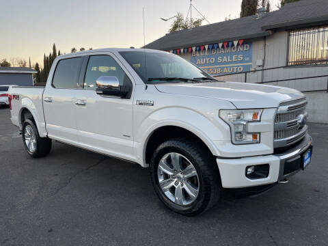 2016 Ford F-150 for sale at Blue Diamond Auto Sales in Ceres CA
