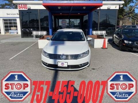 2015 Volkswagen CC for sale at 1 Stop Auto in Norfolk VA