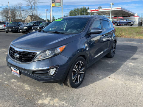 2016 Kia Sportage for sale at Excellent Autos in Amsterdam NY