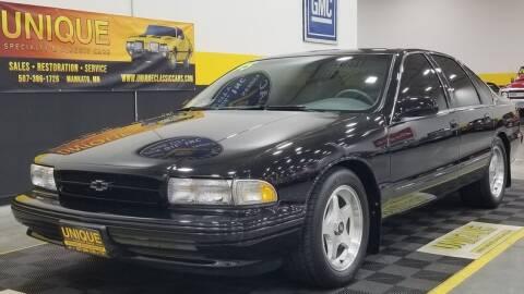 1995 Chevrolet Impala for sale at UNIQUE SPECIALTY & CLASSICS in Mankato MN