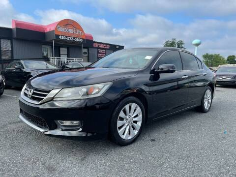 2013 Honda Accord for sale at GORDON'S ELITE 2 in Aberdeen MD