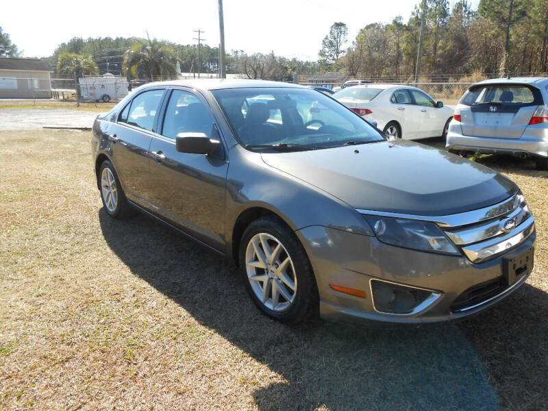 2011 Ford Fusion for sale at Jeff's Auto Wholesale in Summerville SC