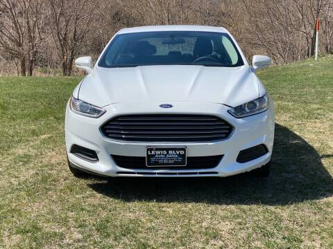 2014 Ford Fusion for sale at Lewis Blvd Auto Sales in Sioux City IA