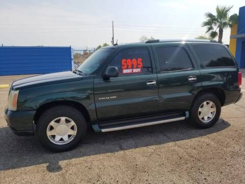 2002 Cadillac Escalade for sale at CAMEL MOTORS in Tucson AZ