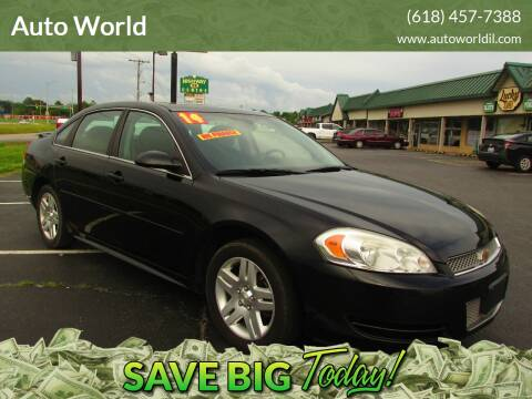 2014 Chevrolet Impala Limited for sale at Auto World in Carbondale IL
