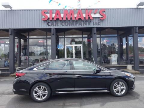 2018 Hyundai Sonata for sale at Siamak's Car Company llc in Salem OR