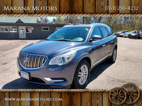 2014 Buick Enclave for sale at Marana Motors in Princeton MN