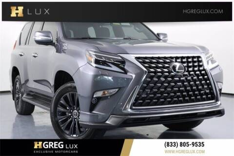 2021 Lexus GX 460 for sale at HGREG LUX EXCLUSIVE MOTORCARS in Pompano Beach FL