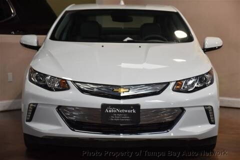 2018 Chevrolet Volt for sale at Tampa Bay AutoNetwork in Tampa FL
