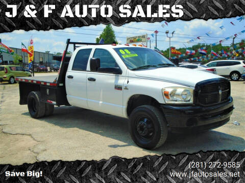 2008 Dodge Ram Pickup 3500 for sale at J & F AUTO SALES in Houston TX