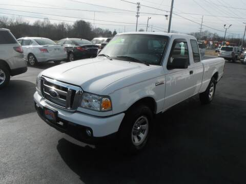 2010 Ford Ranger for sale at Morelock Motors INC in Maryville TN