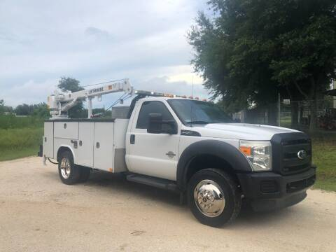2011 Ford F-450 POWER STROKE UTILITY for sale at S & N AUTO LOCATORS INC in Lake Placid FL