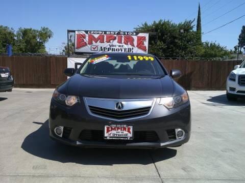 2011 Acura TSX for sale at Empire Auto Sales in Modesto CA