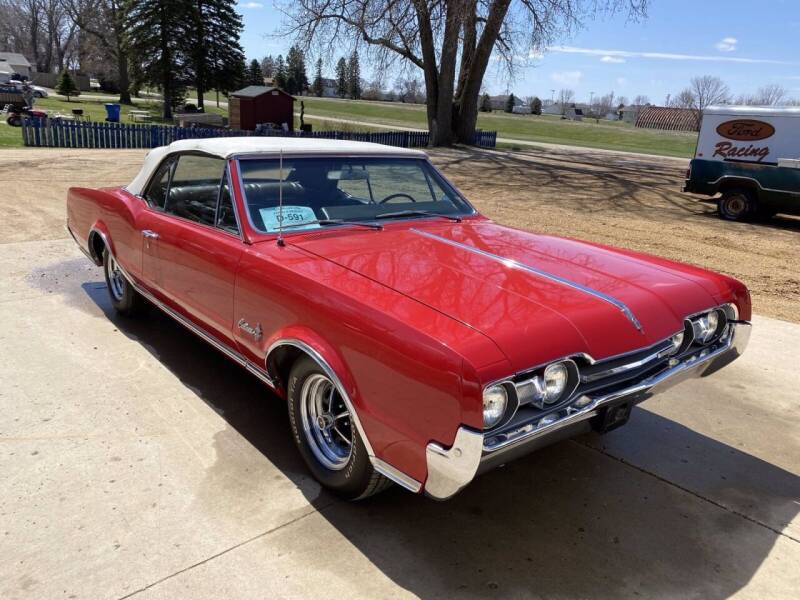1967 Oldsmobile Cutlass for sale at B & B Auto Sales in Brookings SD