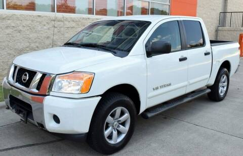 2013 Nissan Titan for sale at Raleigh Auto Inc. in Raleigh NC