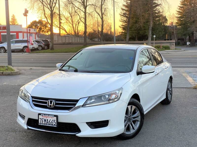 2014 Honda Accord for sale at KAS Auto Sales in Sacramento CA