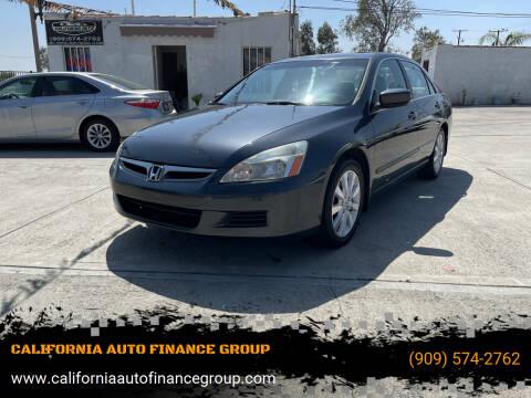 2007 Honda Accord for sale at CALIFORNIA AUTO FINANCE GROUP in Fontana CA