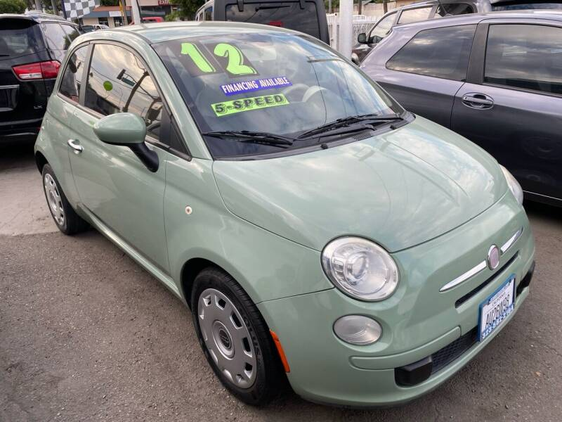 2012 FIAT 500 for sale at CAR GENERATION CENTER, INC. in Los Angeles CA