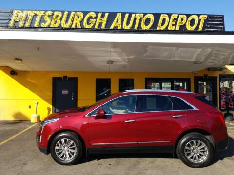 2017 Cadillac XT5 for sale at Pittsburgh Auto Depot in Pittsburgh PA