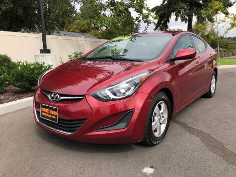 2015 Hyundai Elantra for sale at Matthews Motors LLC in Auburn WA