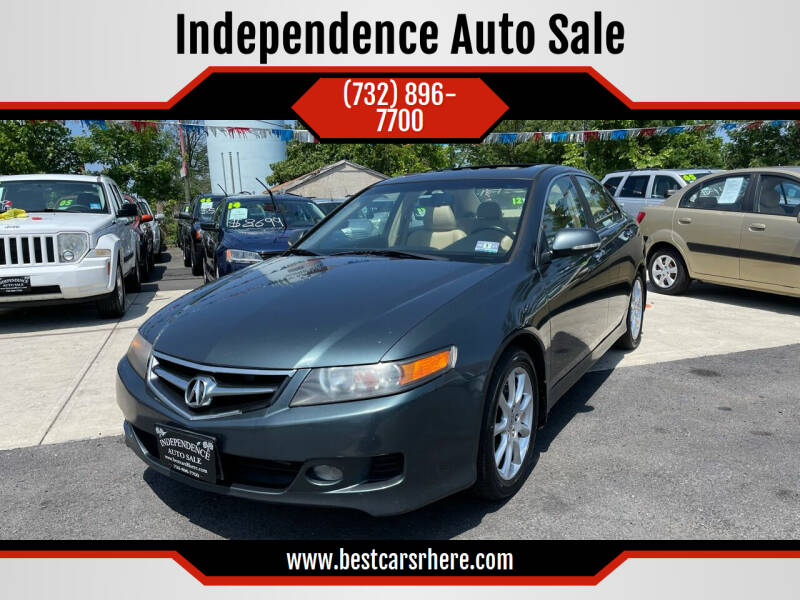 2007 Acura TSX for sale at Independence Auto Sale in Bordentown NJ