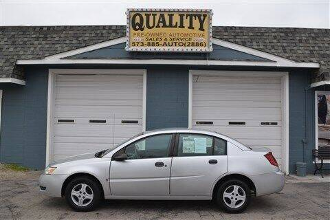 2003 Saturn Ion for sale at Quality Pre-Owned Automotive in Cuba MO