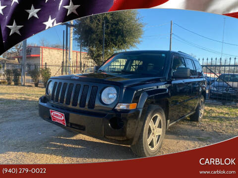 2009 Jeep Patriot for sale at CARBLOK in Lewisville TX