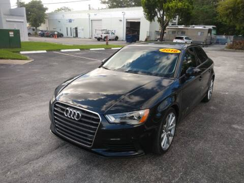 2016 Audi A3 for sale at Best Price Car Dealer in Hallandale Beach FL