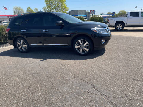 2013 Nissan Pathfinder for sale at TOWER AUTO MART in Minneapolis MN