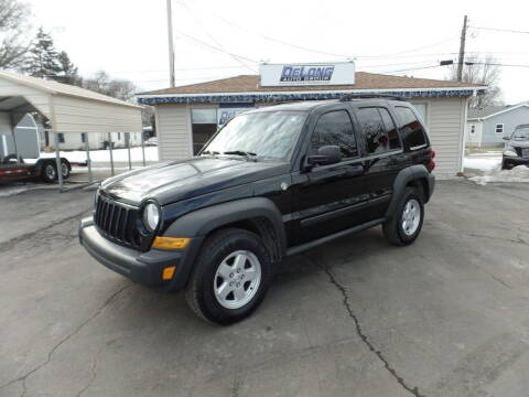 2007 Jeep Liberty for sale at DeLong Auto Group in Tipton IN